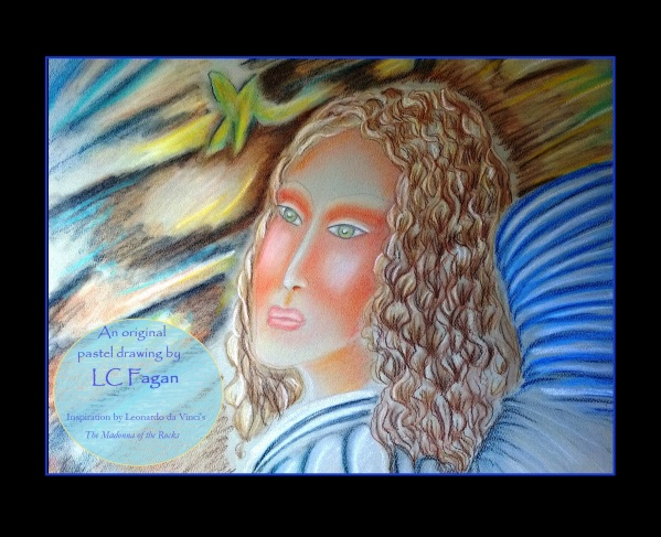 A an 1 Angel by me and da Vinci