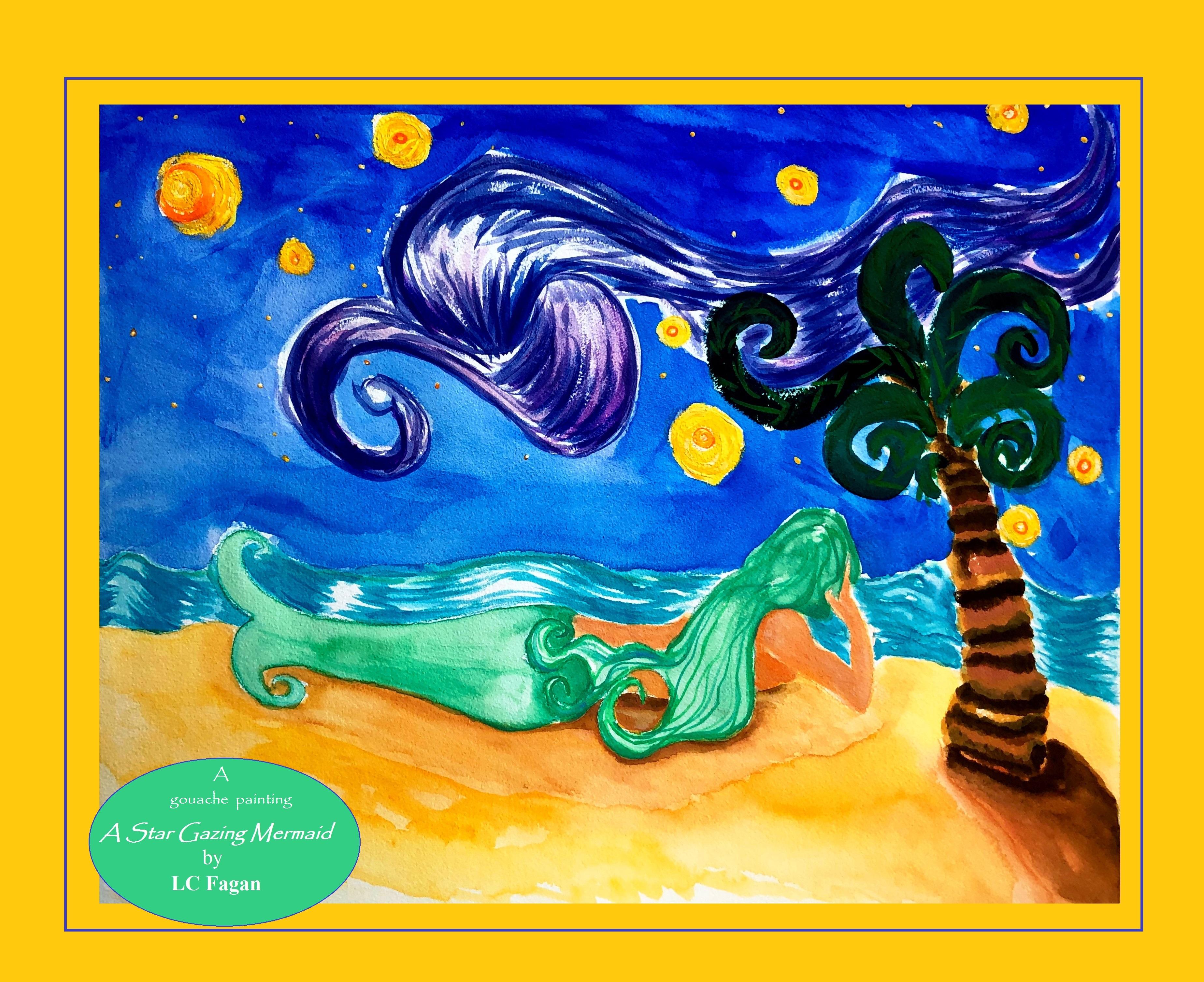A star gazing mermaid 8.3.20